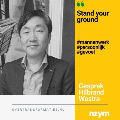 Stand your ground – over mannenwerk